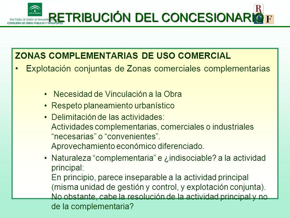 RETRIBUCIÓN DEL CONCESIONARIO