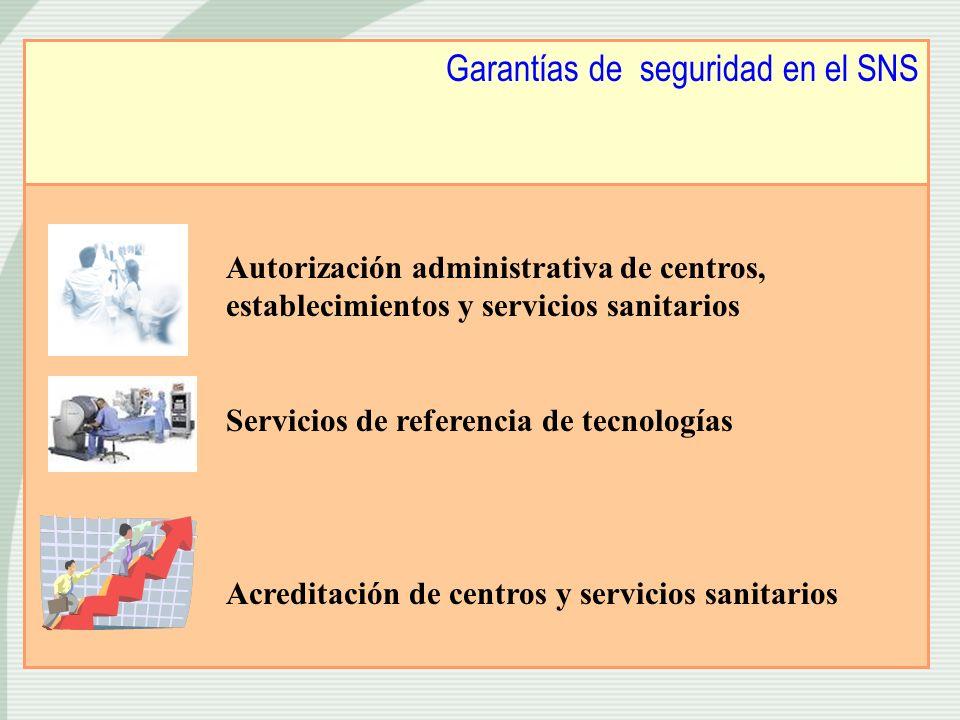 Garantías de seguridad en el SNS