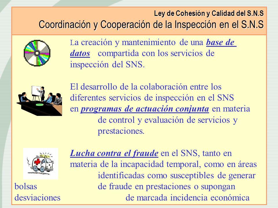 Ley de Cohesión y Calidad del S. N