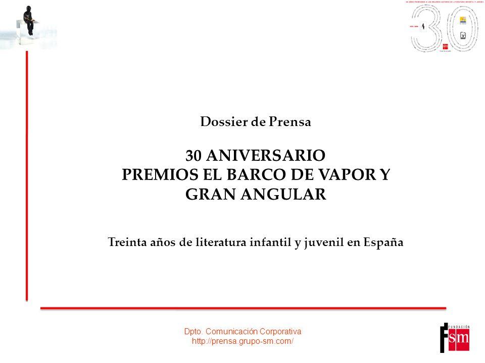 PREMIOS EL BARCO DE VAPOR Y GRAN ANGULAR