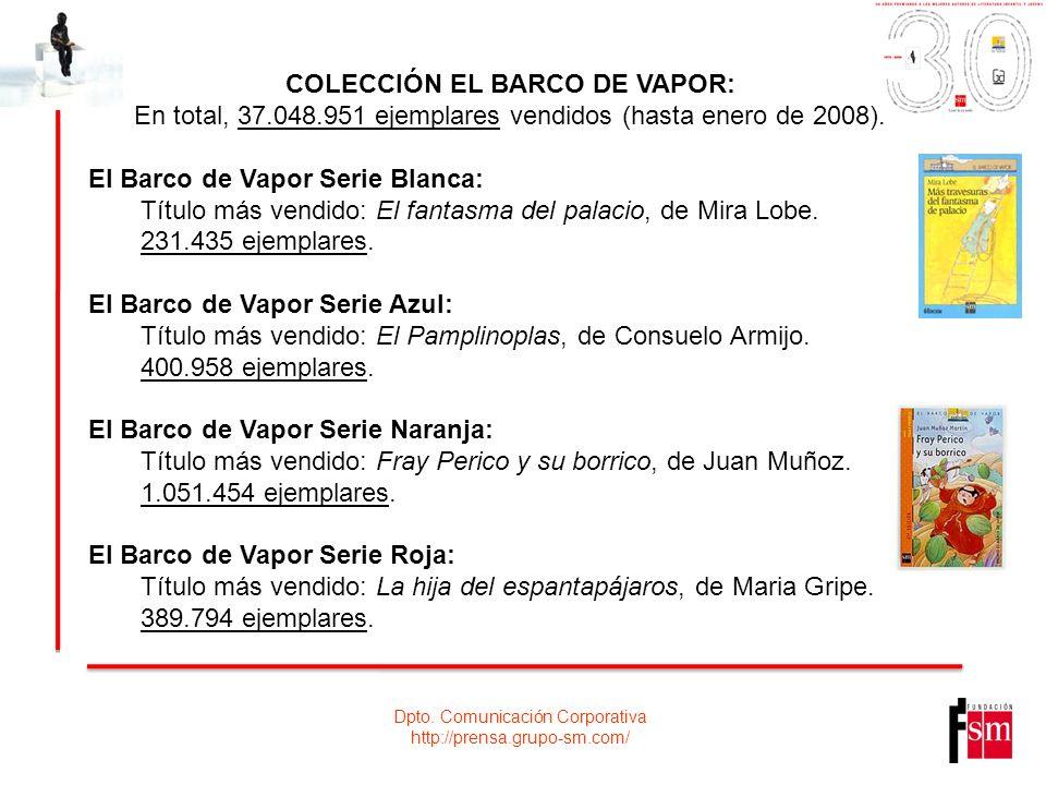 COLECCIÓN EL BARCO DE VAPOR:
