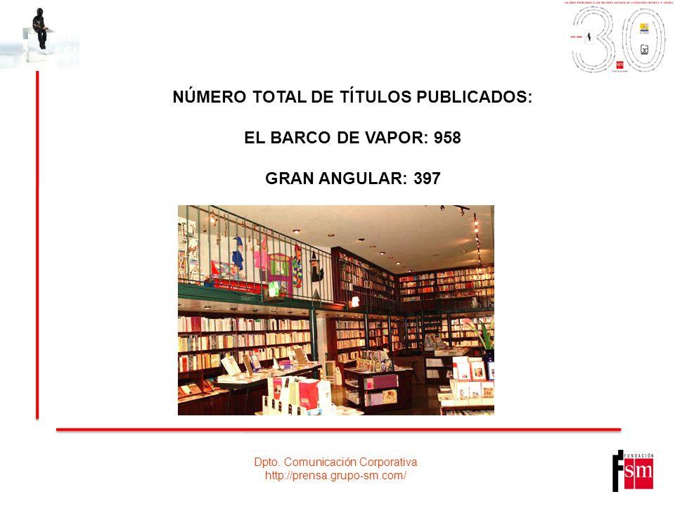 EL BARCO DE VAPOR: 958 GRAN ANGULAR: 397