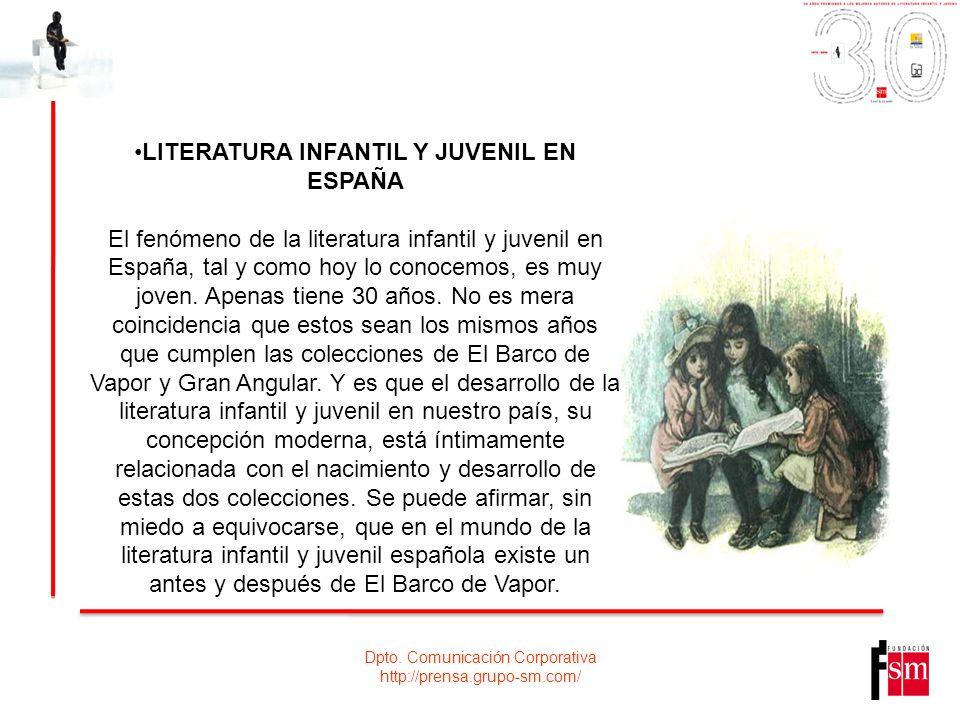 LITERATURA INFANTIL Y JUVENIL EN ESPAÑA