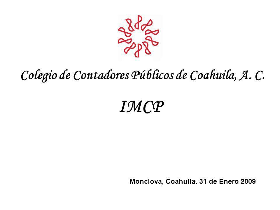 IMCP Colegio de Contadores Públicos de Coahuila, A. C.