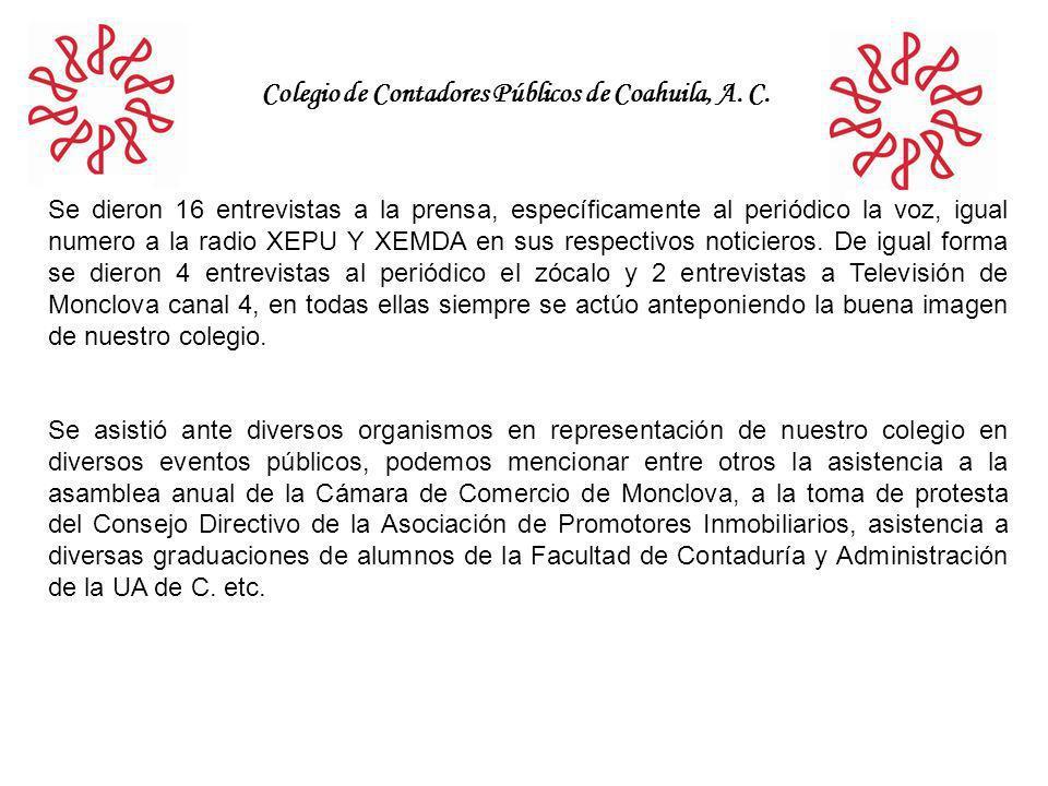 Colegio de Contadores Públicos de Coahuila, A. C.