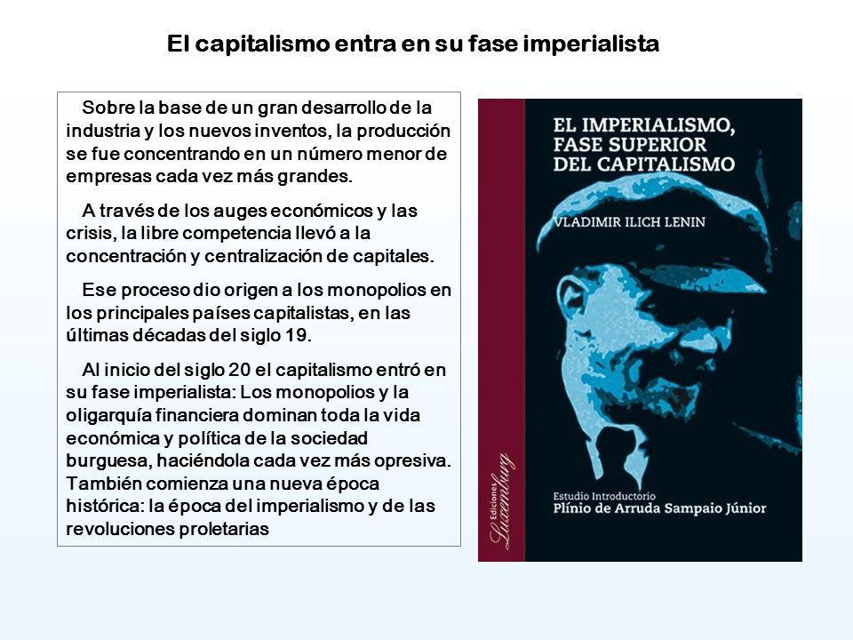 El capitalismo entra en su fase imperialista