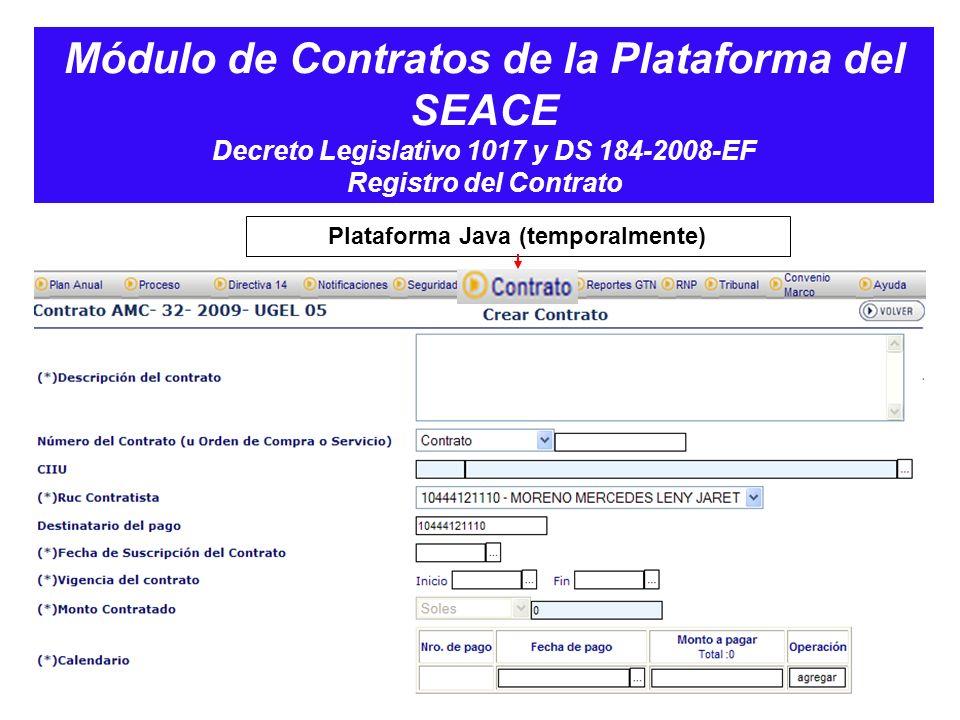 Plataforma Java (temporalmente)