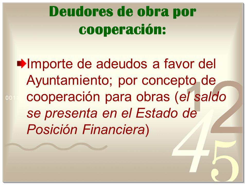 Deudores de obra por cooperación: