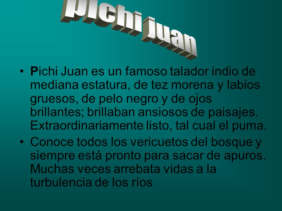 pichi juan