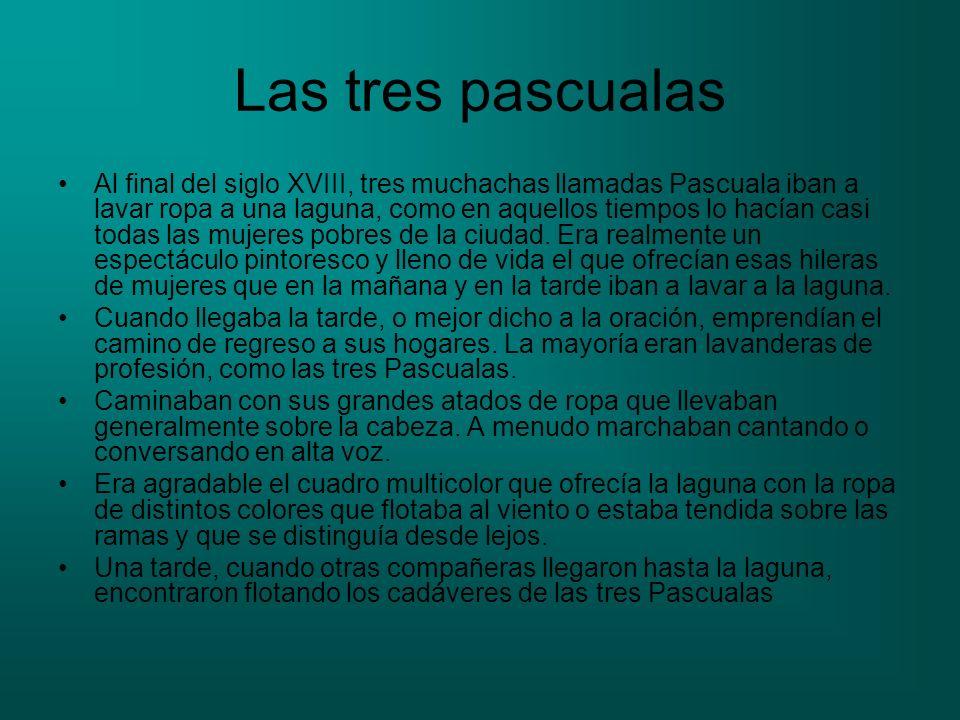 Las tres pascualas