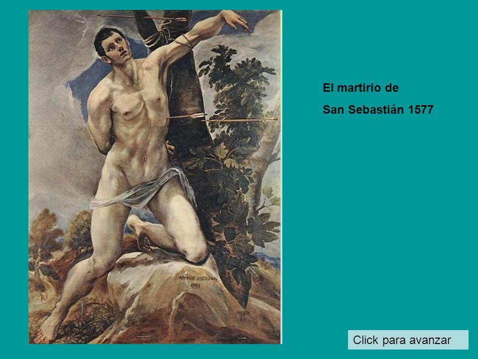 El martirio de San Sebastián 1577 Click para avanzar