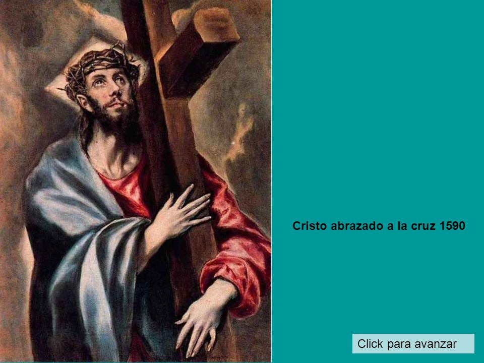 Cristo abrazado a la cruz 1590