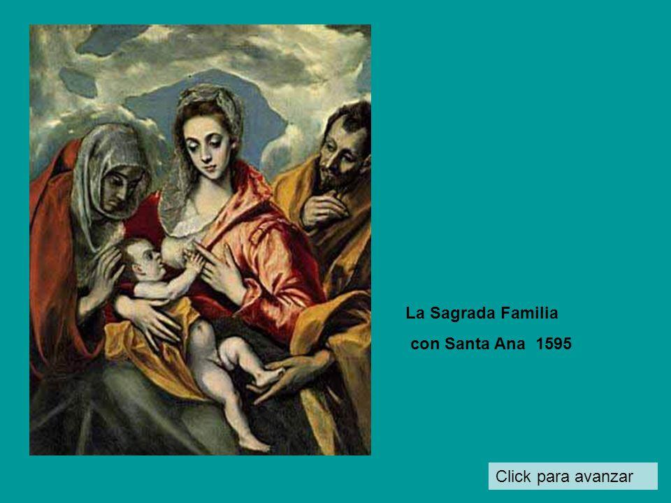La Sagrada Familia con Santa Ana 1595 Click para avanzar