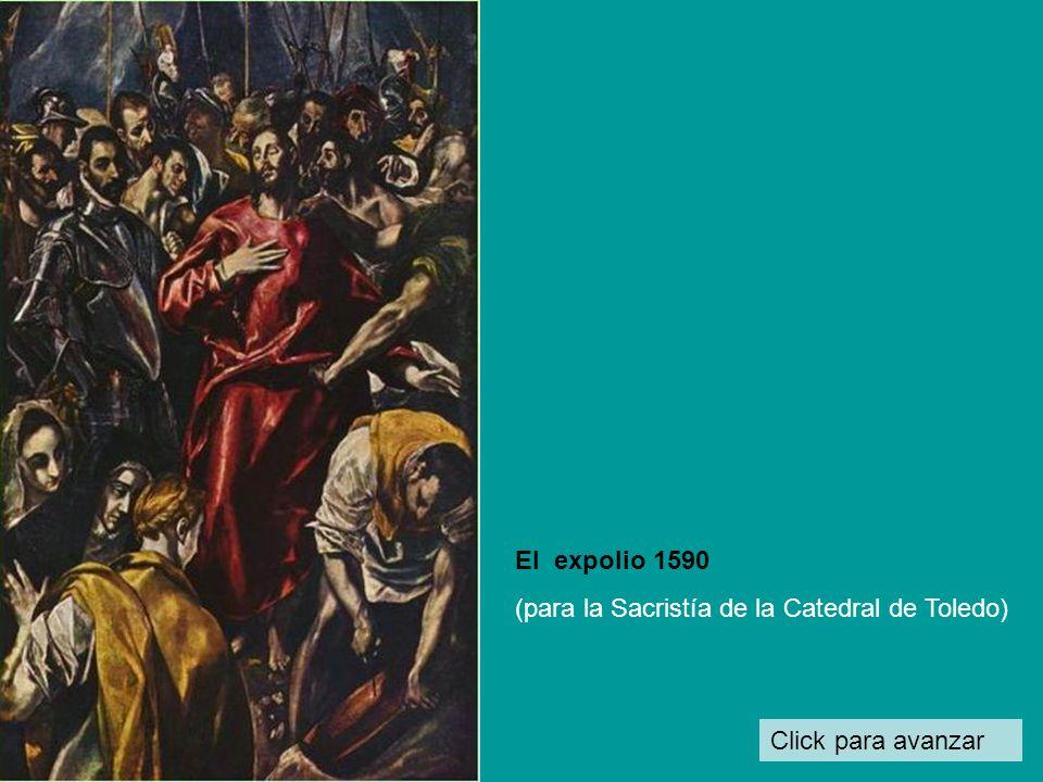 El expolio 1590 (para la Sacristía de la Catedral de Toledo) Click para avanzar