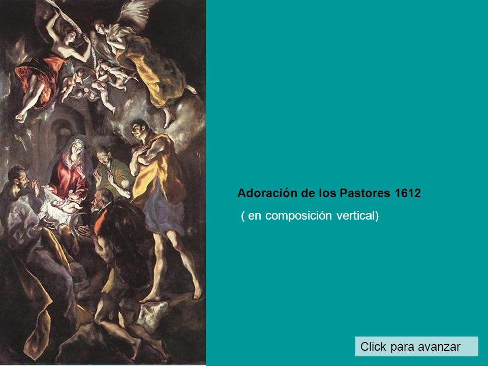 Adoración de los Pastores 1612