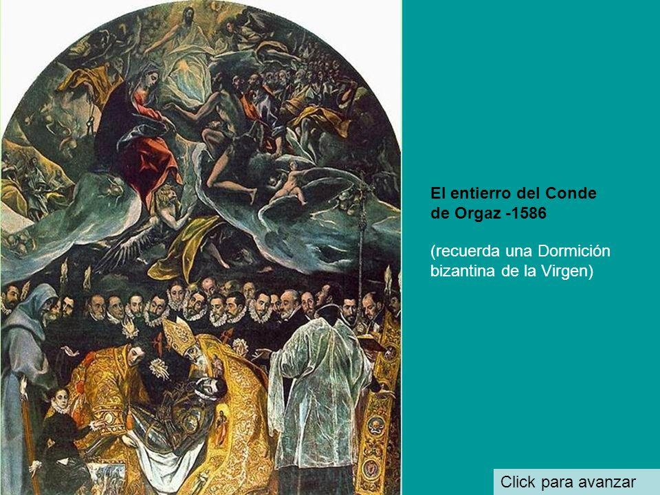 El entierro del Conde de Orgaz -1586