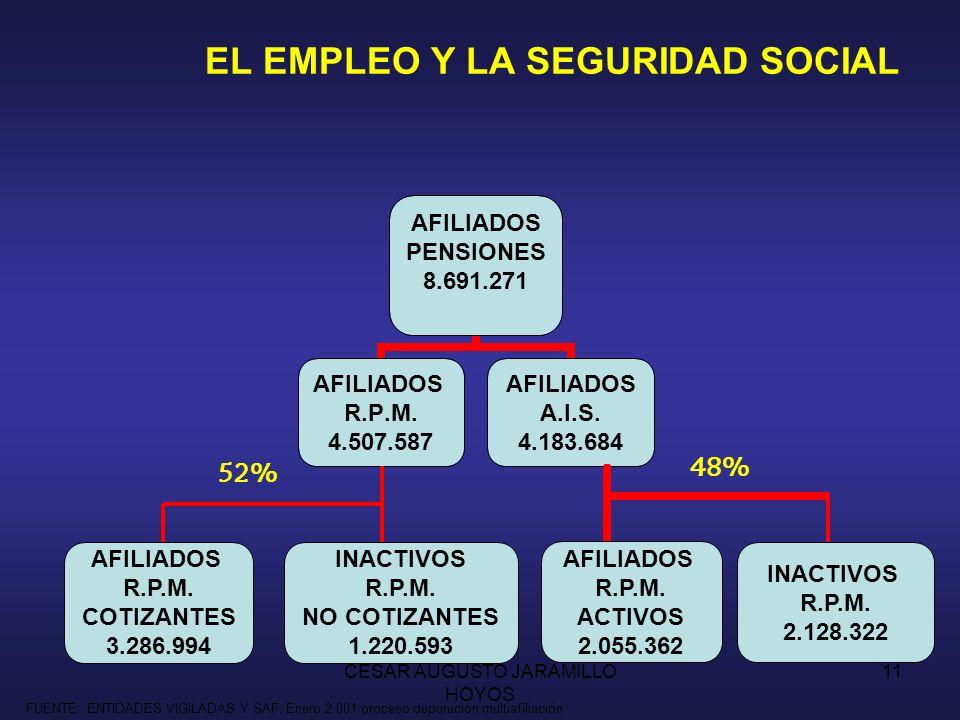 EL EMPLEO Y LA SEGURIDAD SOCIAL