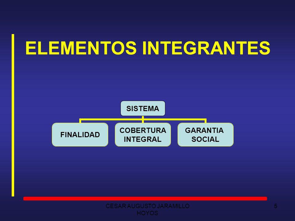 ELEMENTOS INTEGRANTES