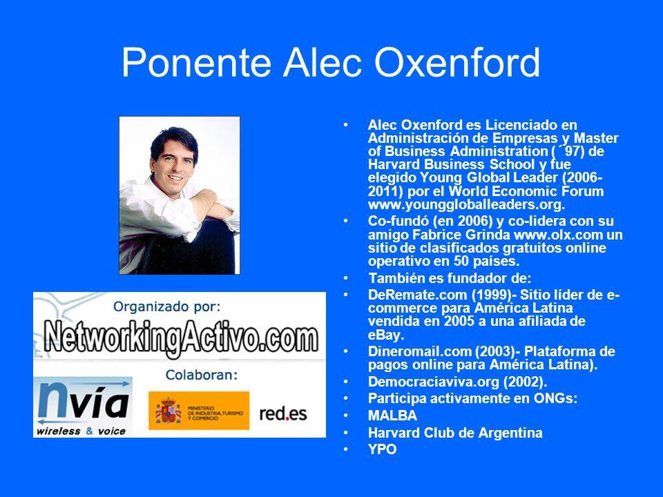 Ponente Alec Oxenford