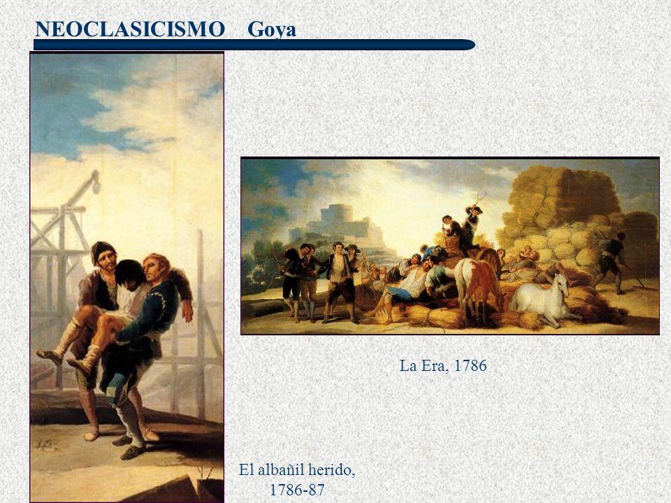 Goya La Era, 1786 El albañil herido, 1786-87