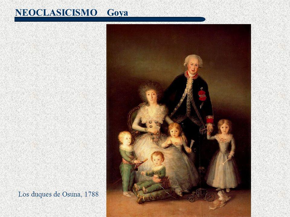 Goya Los duques de Osuna, 1788
