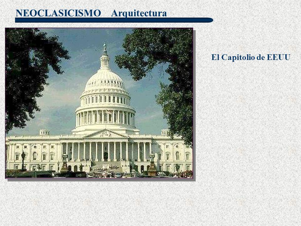 Arquitectura El Capitolio de EEUU
