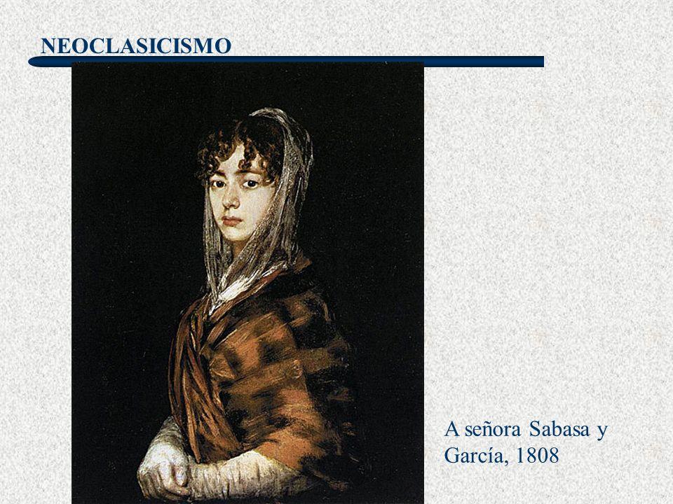 A señora Sabasa y García, 1808