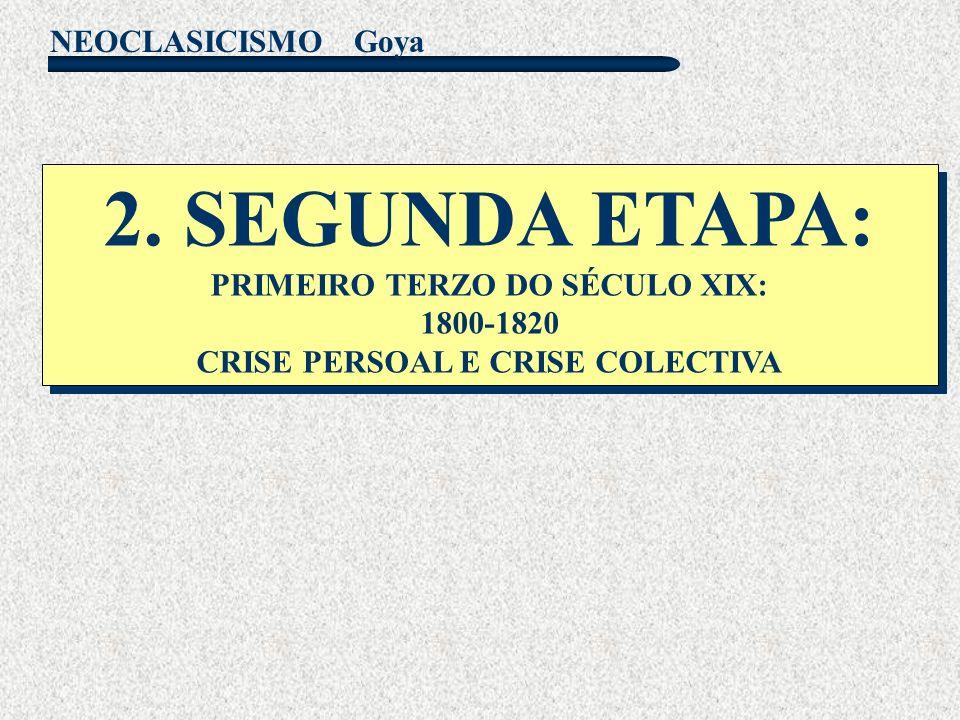 2. SEGUNDA ETAPA: PRIMEIRO TERZO DO SÉCULO XIX: