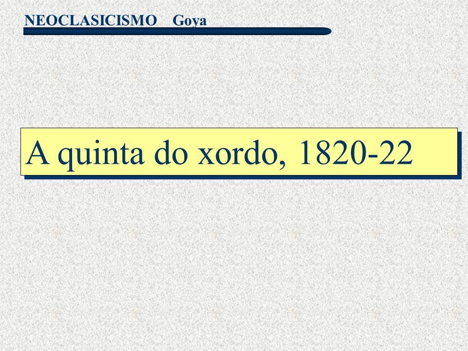 Goya A quinta do xordo, 1820-22