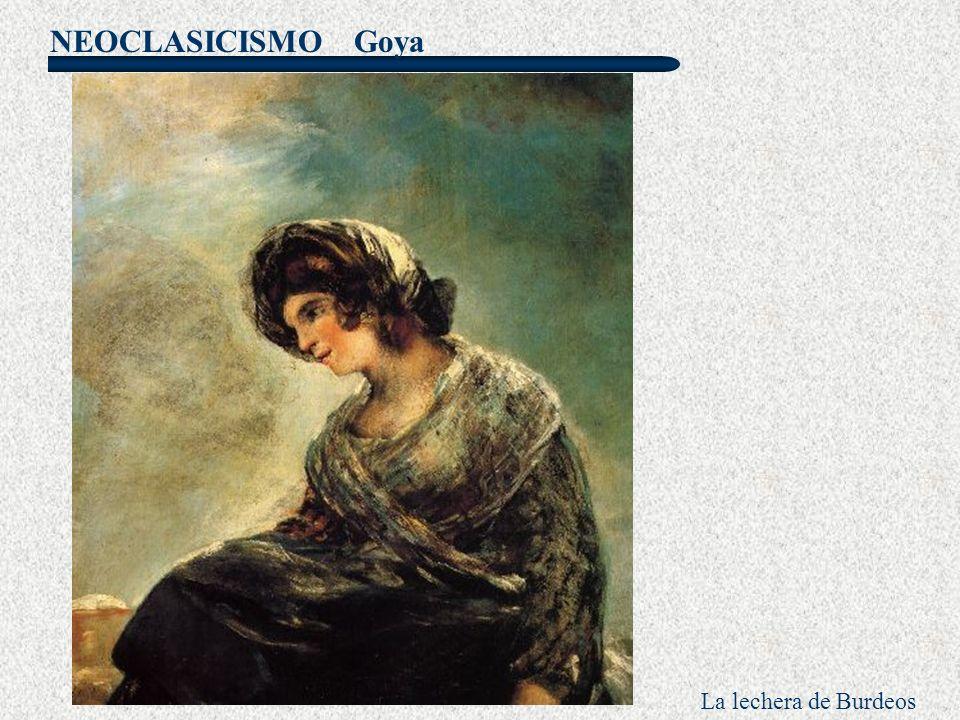 Goya La lechera de Burdeos