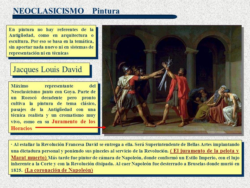 Pintura Jacques Louis David