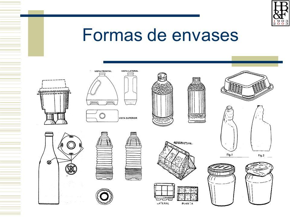 Formas de envases