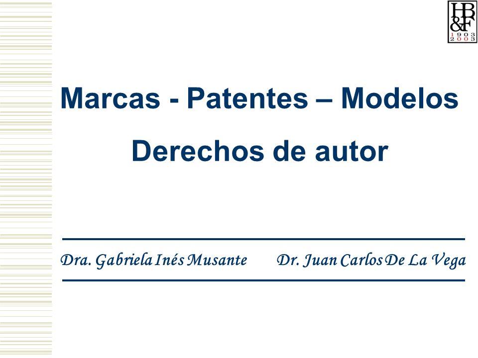 Marcas - Patentes – Modelos
