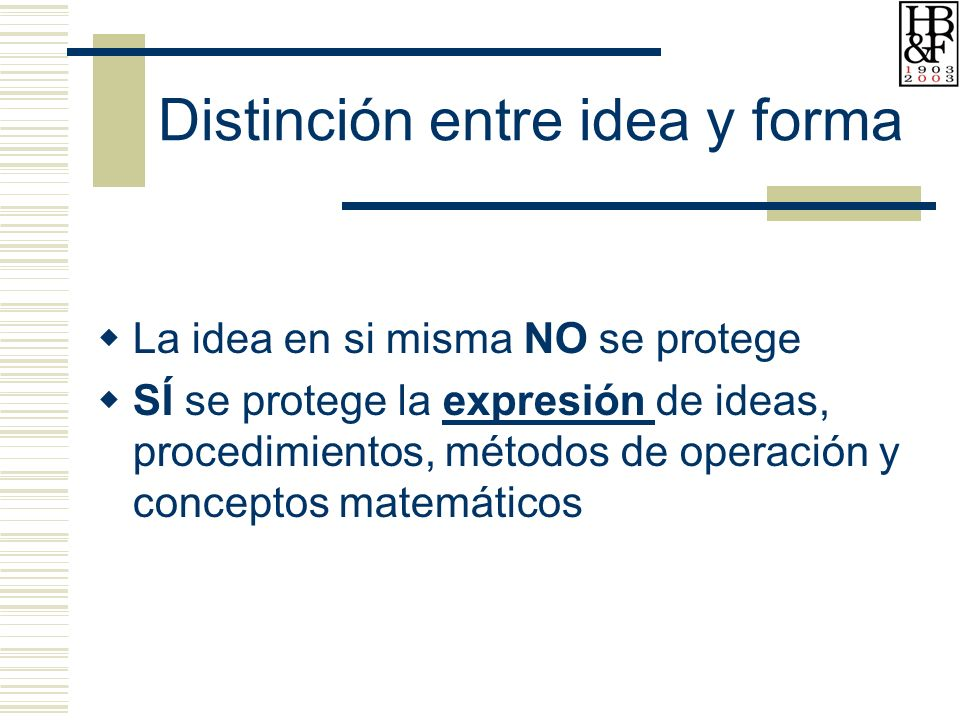 Distinción entre idea y forma