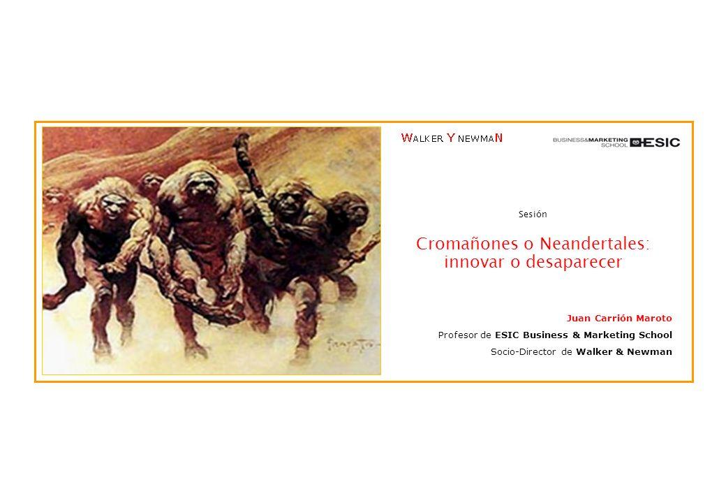 Cromañones o Neandertales: innovar o desaparecer