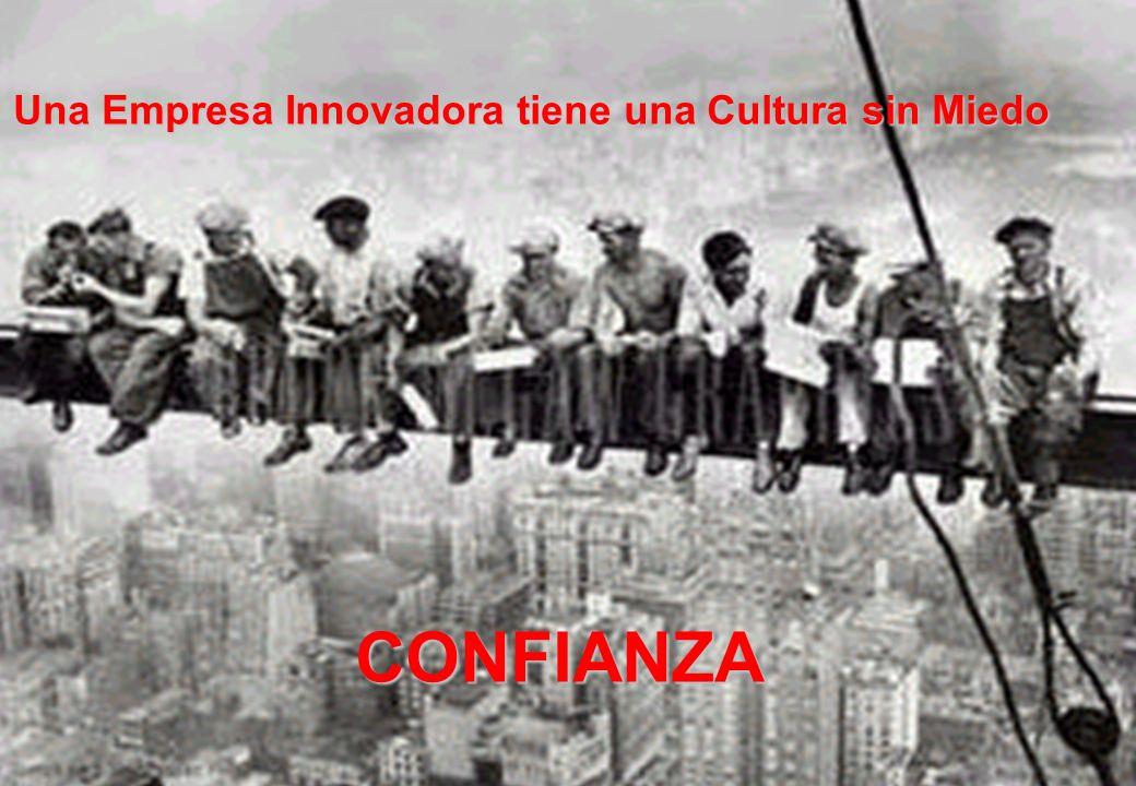 Una Empresa Innovadora tiene una Cultura sin Miedo