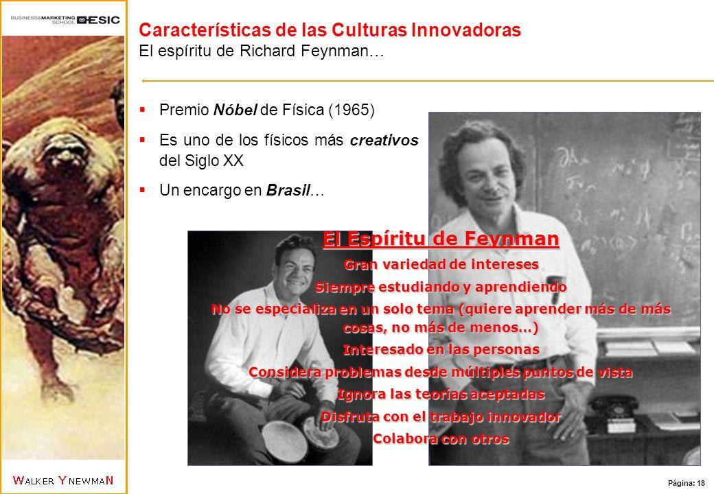 Características de las Culturas Innovadoras