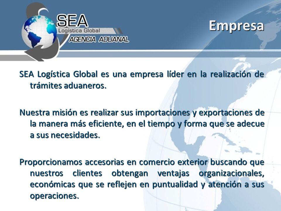 Empresa SEA Logística Global es una empresa líder en la realización de trámites aduaneros.