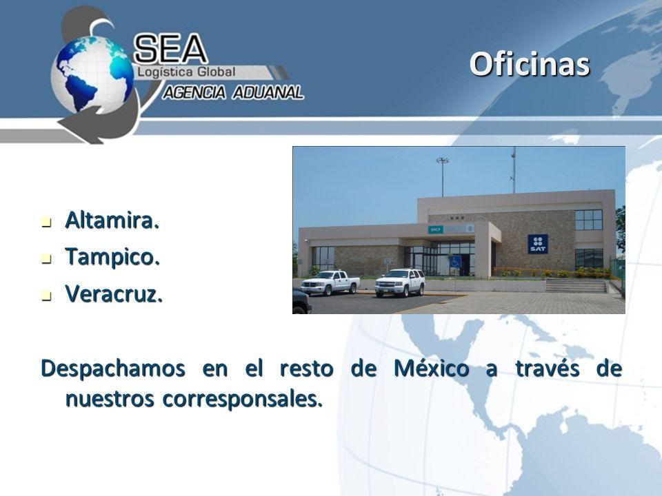 Oficinas Altamira. Tampico. Veracruz.