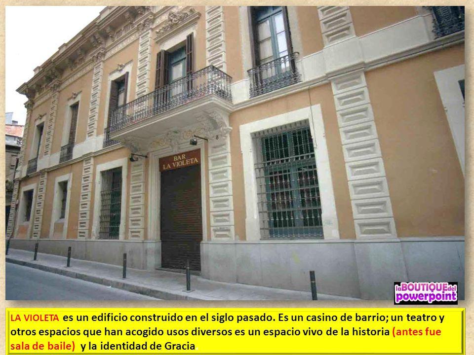 LA VIOLETA es un edificio construido en el siglo pasado