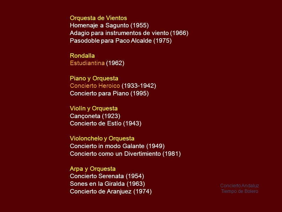 Adagio para instrumentos de viento (1966)