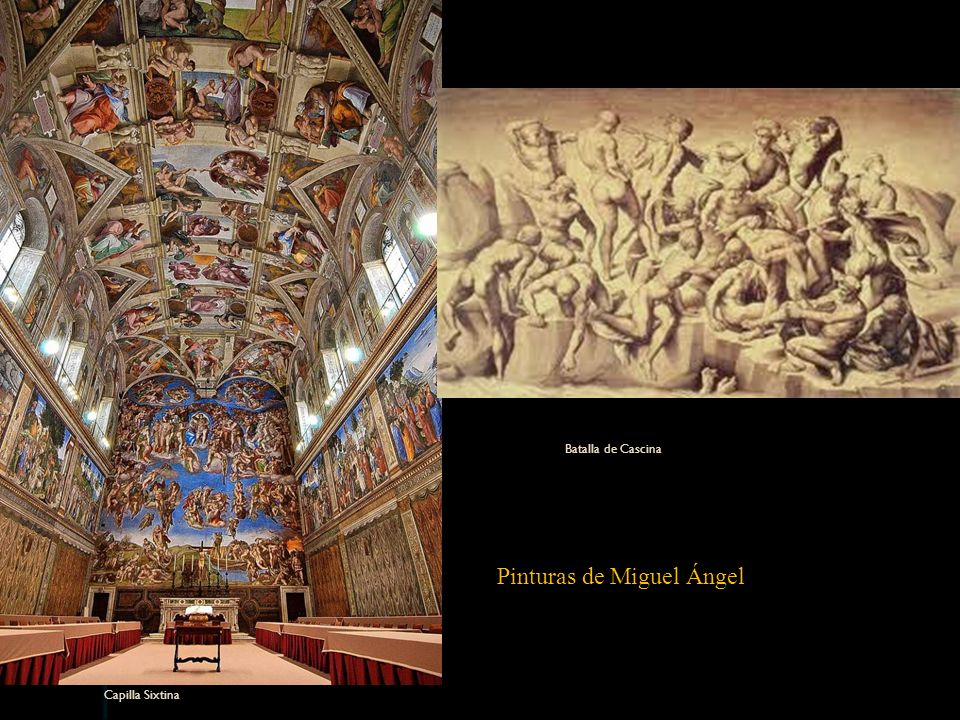 Pinturas de Miguel Ángel