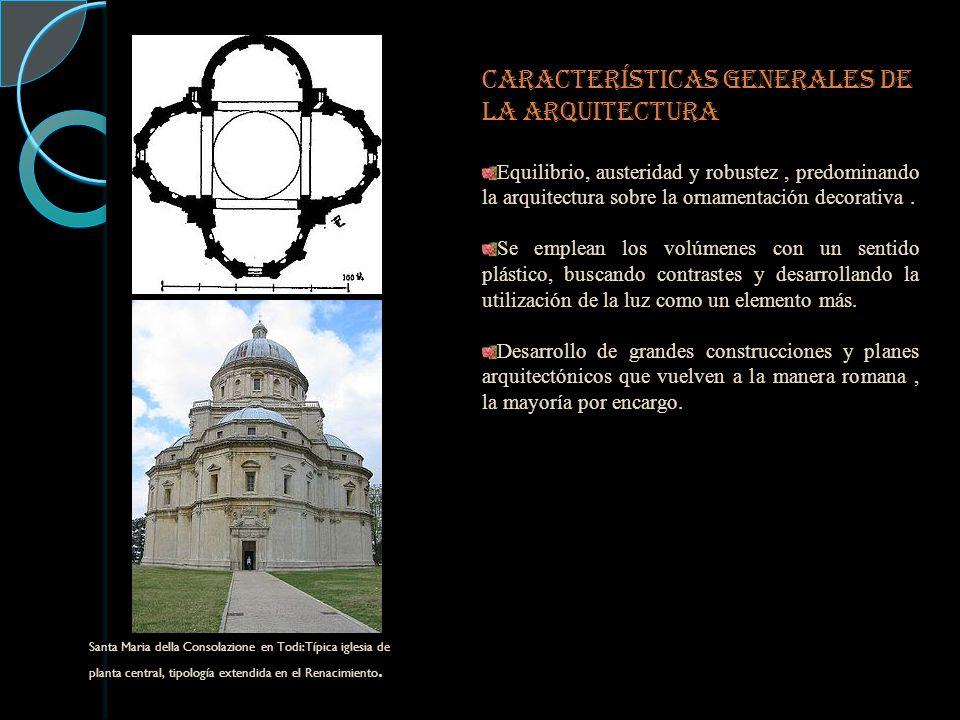 CARACTERÍSTICAS GENERALES DE LA ARQUITECTURA