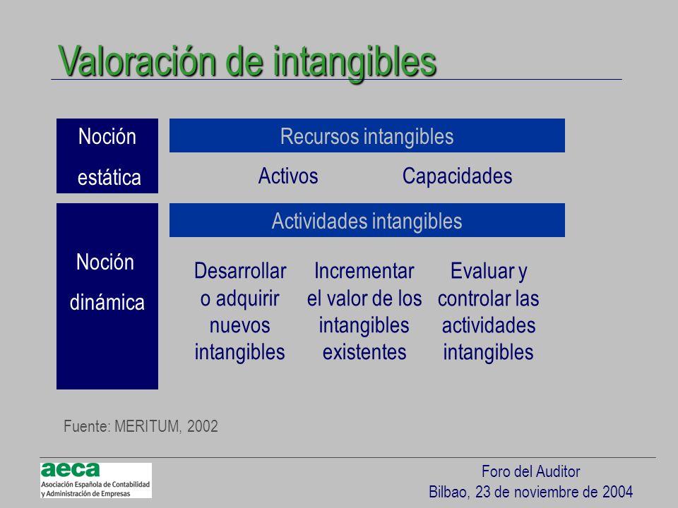 Valoración de intangibles