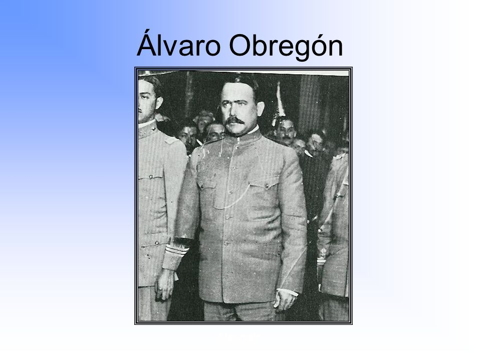 Álvaro Obregón Maximato