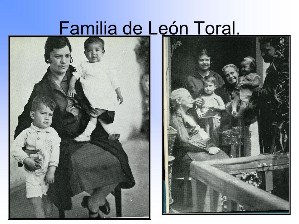 Familia de León Toral. Maximato