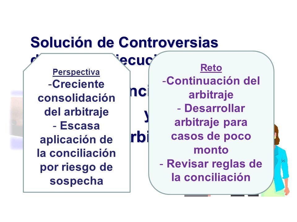 Conciliación y Arbitraje.