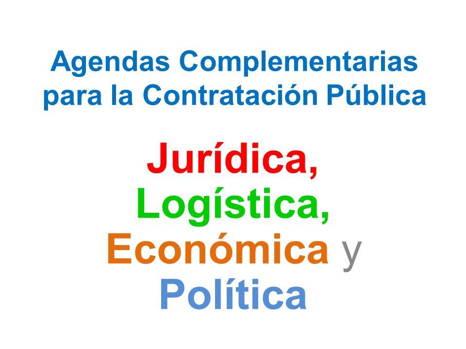 Agendas Complementarias para la Contratación Pública