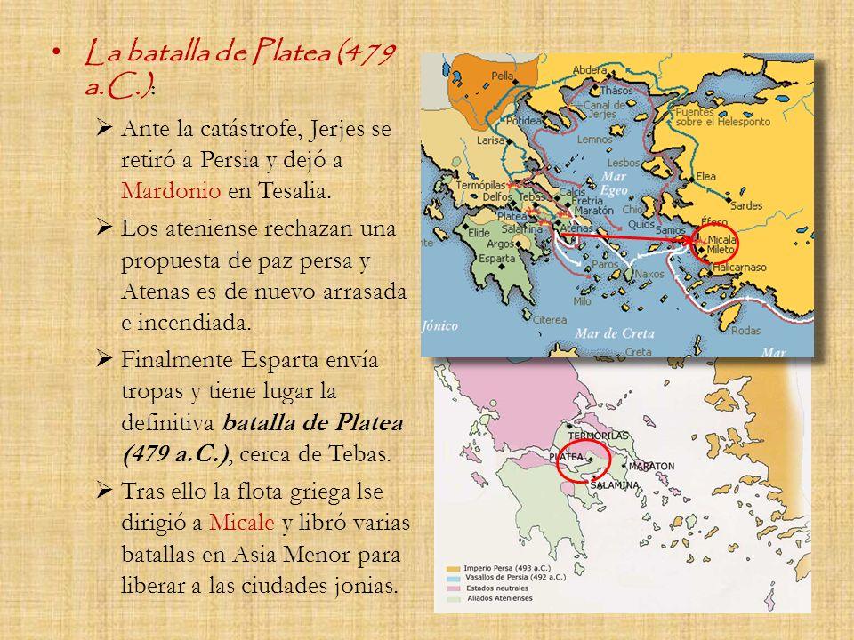 La batalla de Platea (479 a.C.):
