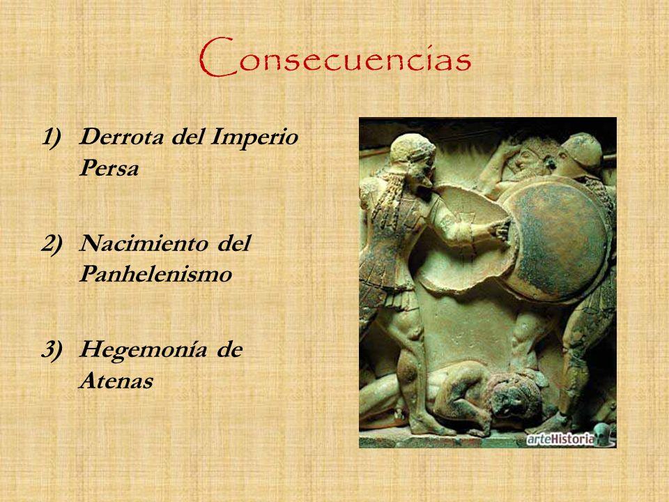 Consecuencias Derrota del Imperio Persa Nacimiento del Panhelenismo
